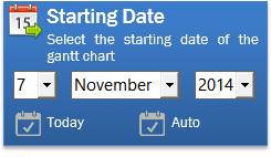 starting date